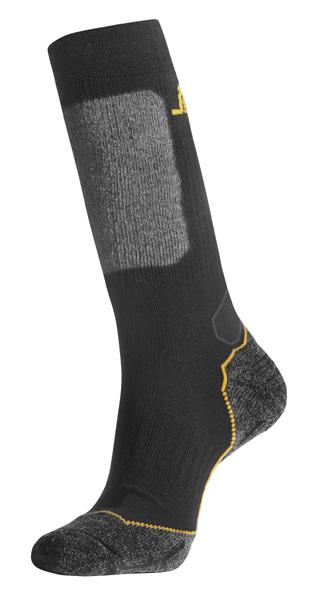 Wollen sokken met scheenbescherming